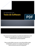 Teste de Software - Parte II