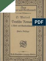 Walzel_Deutsche Romantik