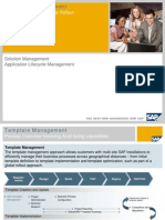 SAP Global Template Roll-out