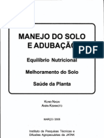 Manejo Do Solo e Adubacao - Livro