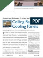 Radiant Cooling Ceiling Panels and DOAS - Mumma - ASHRAE Journal 2006-10
