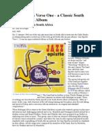 Jazz Epistles Verse One