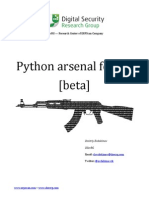 Python Arsenal for RE