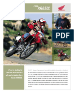 Brochure 2009 XR650L