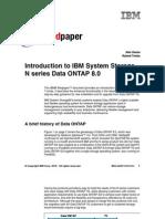 IBM Nseries Ontap8