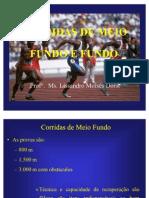 Aula de Corrida de Meio Fundo e Fundo
