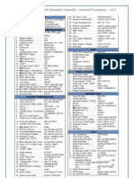 ATR 72-500 Checklist