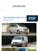 Daimler Mercedes Benz Vans at a Glance