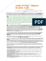 The Sins of the World-Or Unbelief-The Sin of the World-john 1 29
