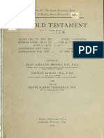 Booke, McLean, Thackeray. The Old Testament in Greek according to the text of Codex vaticanus. 1906. Volume 2, Part 4.