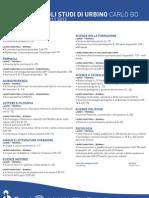 Manifesto Degli Studi 2011 2012