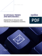 Q1 2011 Email Trends and Benchmarks