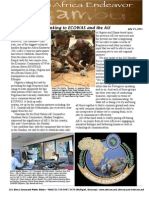 Africa Endeavor 2011 News letter ECOWAS
