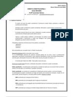 CONSTITUCIONAL I - AULA REVISÃO