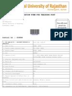CUOR2009 Recruitment Print Form PDF