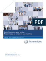 PG Research Flash Private Equity Latin America