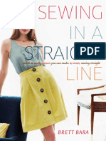 The One-Hour Skirt from Sewing in a Straight Line by Brett Bara