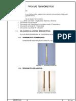 Inv. No. 8 - Tipos de Termómetros