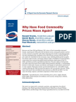 Why Have Food Commodity Prices Risen Again (USDA)