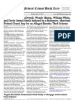 July 15, 2011 - The Federal Crimes Watch Daily