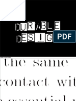 Durable Design