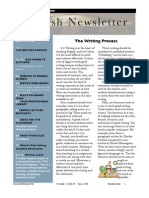 English Newsletter Fall 08 Issue