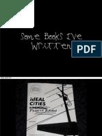 Some Books I've Written