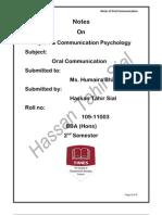 Psychology & Report