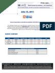 ValuEngine Weekly Newsletter July 15, 2011