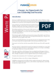 Fusion 2020 White Paper Part II