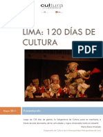 Lima Cultura Informe 1