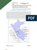 Problematic A de La Mineria en El Peru