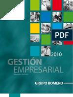 Memoria Anual Grupo Romero 2010
