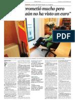 Soraya Sáenz de a Entrev LV