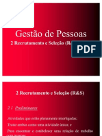08 - TRE -  Recrutamento e seleção