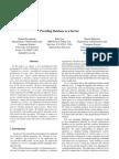 Providing Database as a Service