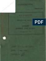 TM-E9-1983 Enemy Bombs and Fuzes - Section III Japanese Bombs