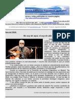 Boletin Nº6 de la Comisión de Exiliados Argentinos en Madrid
