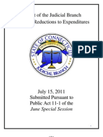 Conn Judicial Department Budget Plan 071511