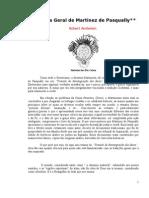 Ambelain Robert - Doutrina Geral de Martinez de Pasqually