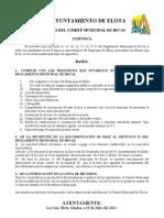 Convocatorias becas Universitarias Elota.