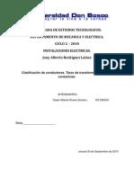 Conductores Eléctricos y transformadores