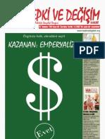 Tepki ve Değişim Dergisi 15 Temmuz 2011 sayısı - Sayı 40