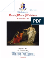 Livro de Horas - Santa Maria Madalena