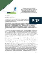 Greater Edmonton Alliance letter