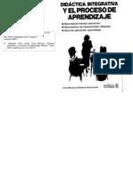 Didactica Integrativa y El Proceso de Aprendizaje