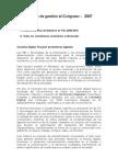 Informe de Gestión TIC al Congreso de la Republica, 2007