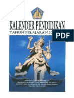 Kalender Pendidikan Diknas Prov. Bali 2011-2012