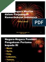 Peran Negara Muslim Dalam Perjuangan Kemerdekaan Indonesia