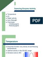 Enzyme Factors